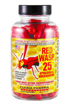 CLOMA PHARMA  Red Wasp 75 kaps.
