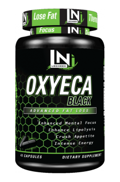 LECHEEK NUTRITION – OxyECA Black 45 kaps.